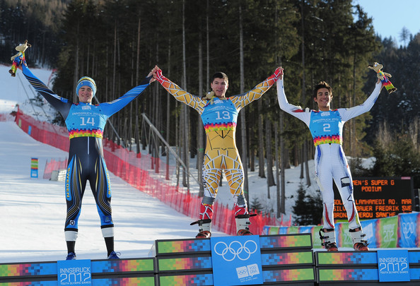 SPORT-SKI JOJ-2012 d'hiver (Super-G): L'or pour le Marocain Adam Lamhamedi