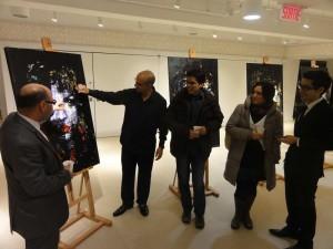 L'artiste-peintre Hamid Bouhioui expose ses toiles à Dar Al-Maghrib à Montréal