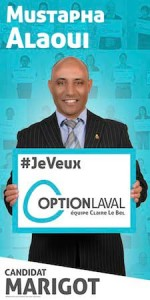 Mustapha Alaoui candidat vedette au Conseil de Ville (district Marigot)