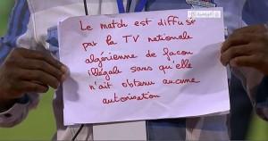 """La décision de diffuser le match Algérie-Burkina Faso sur la chaîne terrestre algérienne est """"légitime"""""""