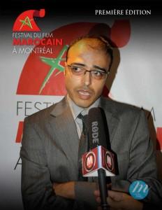 M Adil Hosni, président -  Fondateur du Festival du film marocain de Montréal (FFMM)
