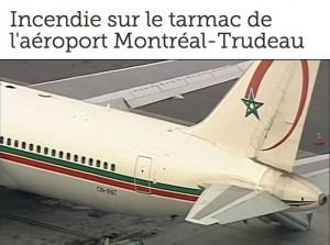 Incident à l'aéroport de Montréal : l'avion de Royal Air Maroc rentré au Maroc