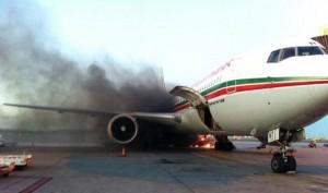 Montréal-Trudeau – Incendie lors du chargement des bagages sur un avion Royal Air Maroc.