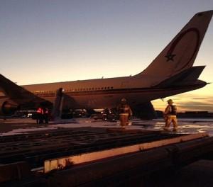 Incident à l'aéroport de Montréal : L'avion de la RAM n'a pas été touché et l'évacuation des passagers s'est déroulée dans de bonnes conditions (Royal Air Maroc)