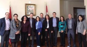 Le Conseil d'Administration du Forum des Compétences Marocaines Résidant au Canada (FCMRC) reçu par I' Ambassadeur de Sa Majesté le Roi au Canada