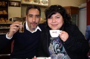 Abderrahim Chakir et son épouse Karla Piedrasanta - PH Torstar News Service / metronews.ca