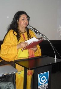 Géraldine Le Chêne, directrice Vues d'Afrique