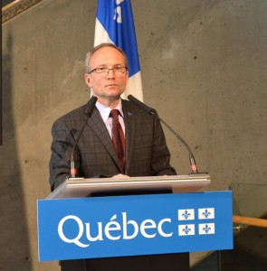 Martin-Coiteux,  président du Conseil du Trésor. Québec