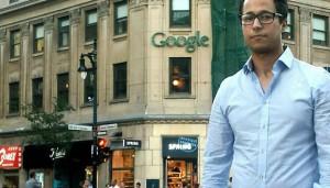 Akram Adhaim, finaliste de Google marketing challenge