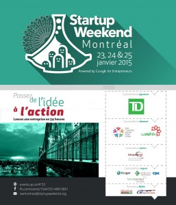 Un «Startup Weekend à Montréal»  Comment lancer une entreprise en 54 heures…