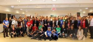 Startup weekend Montréal. Onze projets d'entreprise mis sur rail