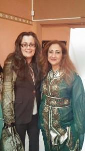 Mme Habiba Zemouri, consule générale du Maroc à Montréal et Mme Yara Karim, présidente de l'association