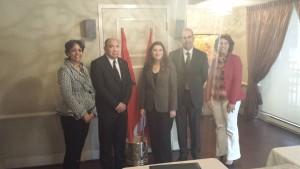 Rencontre avec l'ambassadeur du Canada au Maroc Diplomatie économique, sociale et culturelle