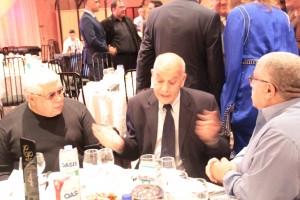 De gauche à droite: M Akli, M Abderrahmane El fouladi et M Nourredine Razik lors du 14ème anniversaire du Groupe Atlas Media