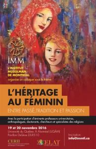 Les colloques de l'IMM. L'héritage au féminin; entre passé, tradition et passion…