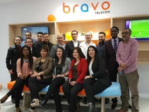 «Success story». Bravo Telecom: 20000 clients heureux… … et des grands projets en chantier