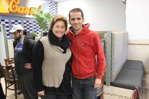 Anne Samson et Wahid Meghrebi